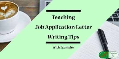 Application letter in english sample